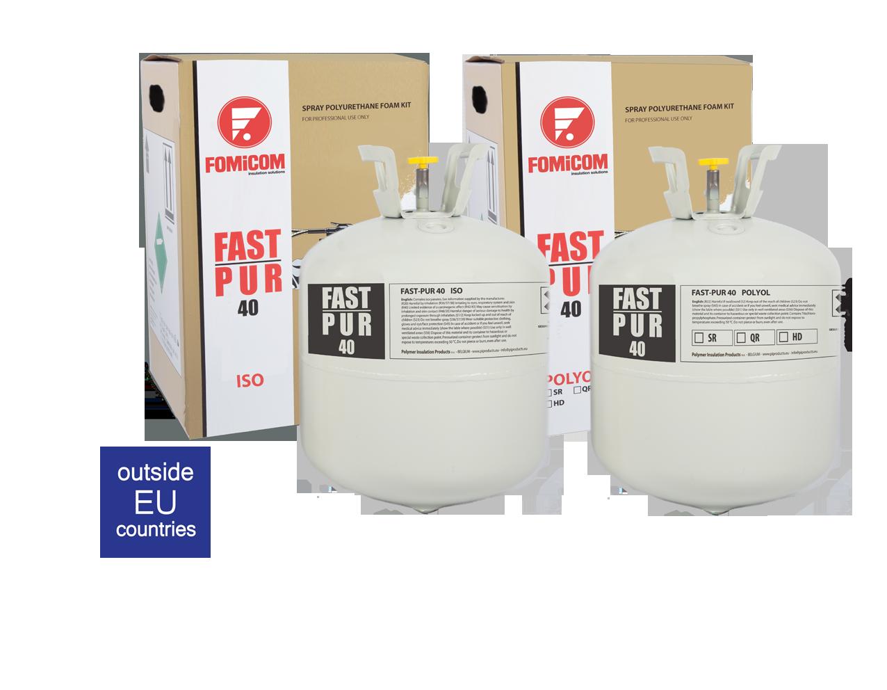 Fast-Pur 40 spray foam insulation